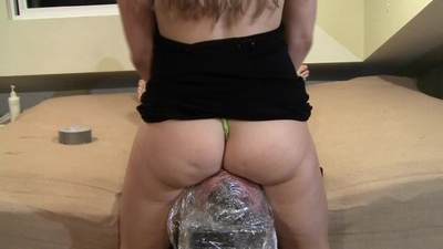 Cling Wrap Stool PART 2 - Thong