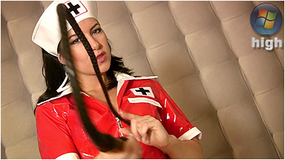 Sexy Nurse Whipping (WMV) - Lady Danica
