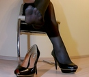 Office Lady Shoes And Foot Worship