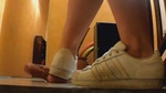Ballerine And Sneaker Cock Crush