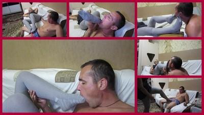 Licking feet 7