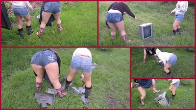 TV wreck