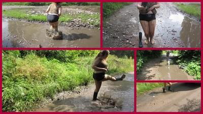 bathing in the mud 2