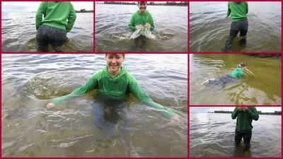 swimming in river 8