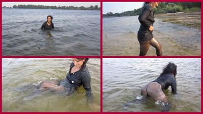 swimming in river 10