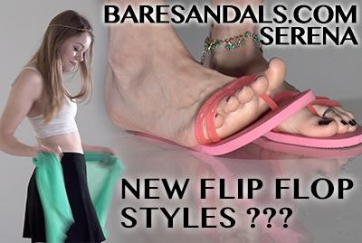 Selena teases us in new style pink Flip Flops. Update 11000 - HD version