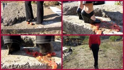 Davlyu tomato shoes