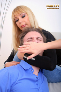 03-002 - Get your face slapped slave! (Picture Set)
