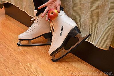 Liliana Hoffman - Sharp Ice Skates