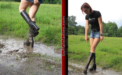 Muddy Plateau-Boots