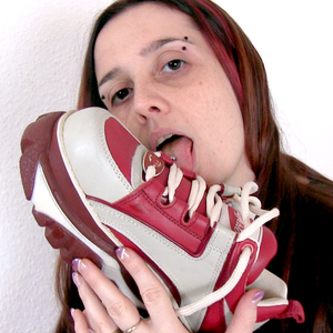 Hey these are my buffalo shoes in red and white!