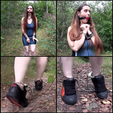 I Walk Around In Cuffs In The Wood