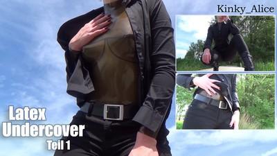 Latex Undercover - Teil 1  -  Latex Undercover - Part 1