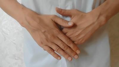 Gentle hands and veins
