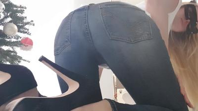 Cum On My Tight Jeans