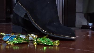 Gioia crushes chocolate candies