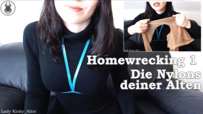 Homewrecking 1 - Your wifes nylons
