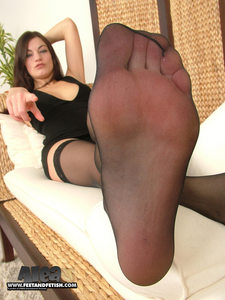 SNIFF MY NYLONS & LICK BOOTS