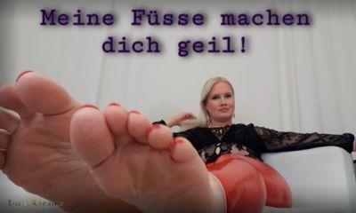 Große Füße verbale Erniedrigung