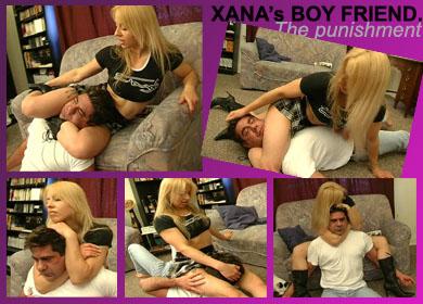 XANA BOY's FIEND PUNISHMENT - PIX