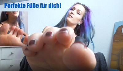 Perfekte Füße für dich!
