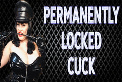 PERMANENTLY LOCKED CUCK
