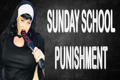 SUNDAY SCHOOL PUNISHMENT