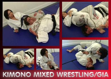 KIMONO MIXED WRESTLING - FULL VIDEO