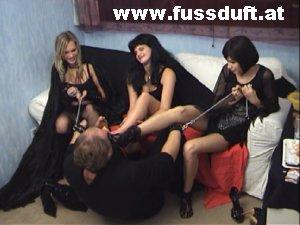 slave smell blond girl hot stinky feet
