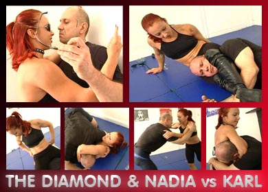 THE DIAMOND & NADIA vs KARL - FULL VIDEO