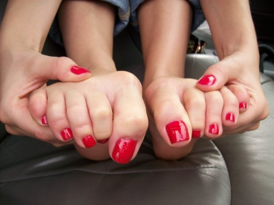 Cherry Red Toes