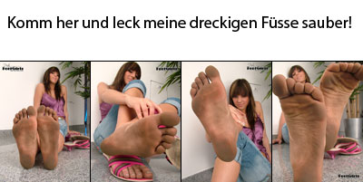Dirtyfeetgirl - Mary´s dirty bare feet
