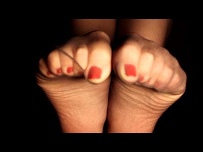 My Black Pantyhosed Feet