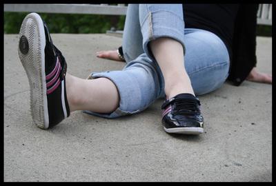 Adidas Lack Ballerinas