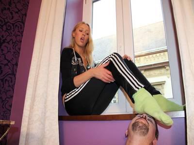 Sock Feet Smelling 24
