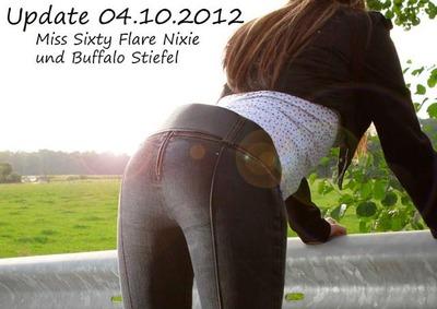 Miss Sixty Flare Nixie & Buffalo Stiefel