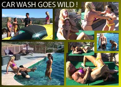 CAR WASH GOES WILD ! - FULL VIDEO