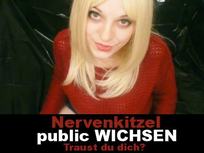 Nervenkitzel! Public Wichsen!