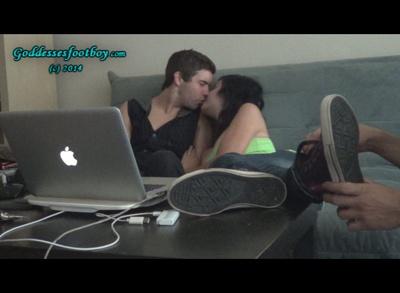Rude Young Couple Humiliates cuckold (Part II)