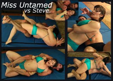 MISS UNTAMED VS STEVE - COMPETITIVE MATCH - FULL VIDEO