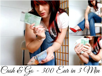 Cash & Go Date - 300 EUR in 3 Min