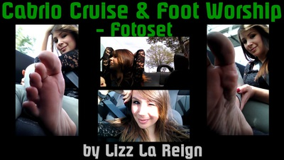 Cabrio Cruise & Foot Worship Picture Set