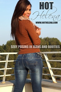 Sexy Posing in Jeans and Booties - Picset