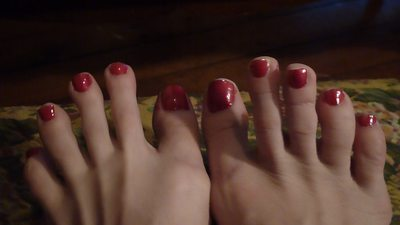 Pretty Red Toes - wmv hd