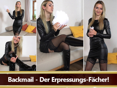 Backmail - Der Erpressungs-Fächer!