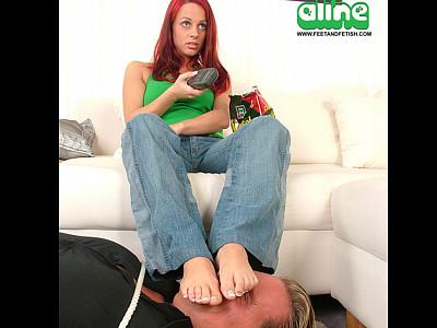 Aline's Footrest