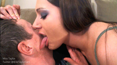 Face Licking and Face Kissing