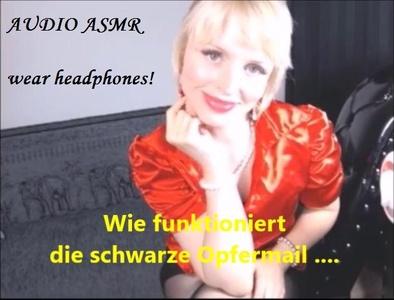 Audio Asmr Wie Geht Blackmail Und So ?