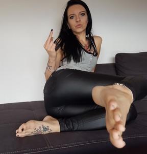 Wichsanleitung Füße